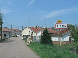 Vincey – Panorama