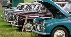 English: Vintage cars from Scottish Extravagan...