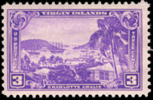 Cent Virgin Island Stamp