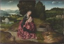 Virgin and Child Resting during the Flight into Egypt (Joachim Patinir) - Nationalmuseum - 20386.tif