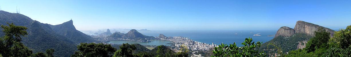 panorama view from Rio de Janeiro