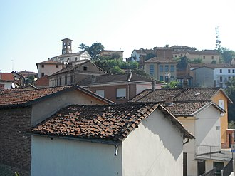 Azzano d'Asti - Image: Vista di Azzano d'Asti