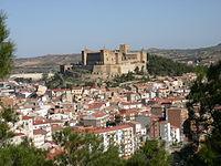 Vista general con el castillo como protagonista - Alcañiz.JPG