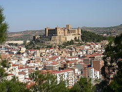 Skyline of Alcañiz