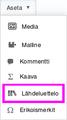 VisualEditor Reference List Insert Menu-fi.png