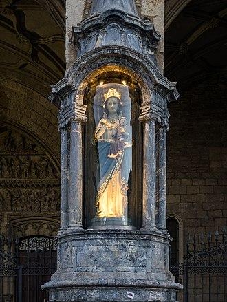 Virgen Blanca Festivities - Virgen Blanca at the San Miguel Church