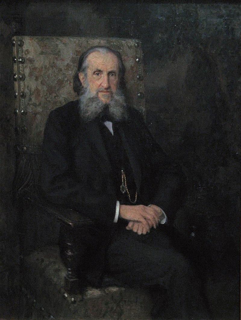 Владимир Герье Н. Богданов-Бельский (1890-е, ГИМ)FXD.jpg