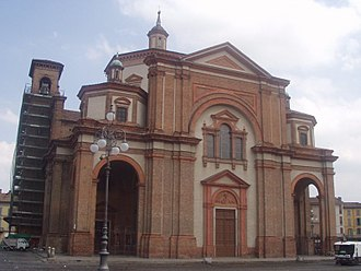 Voghera - The Cathedral of Voghera.