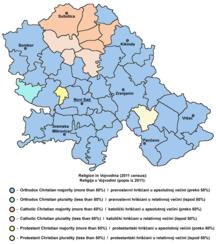 Vojvodina-Demographics-Vojvodina religion2011