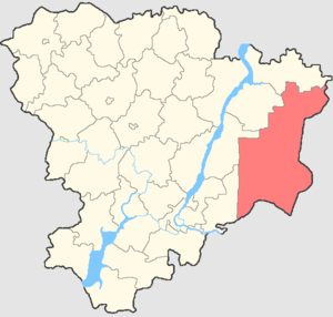 Pallasovsky District - Image: Volgogradskaya oblast Pallasovsky rayon