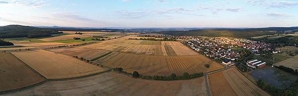 Volpertshausen panoramic01 2018-07-18.jpg