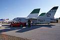Vought F-8K Crusader 146985 Ferrari F430 Spider LSideRears TICO 13March2010 (14412940589).jpg