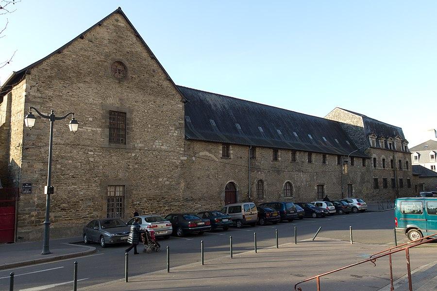 Vue est du couvent de Bonne-Nouvelle (ou des Jacobins).