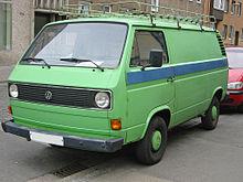 vw vans types