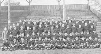 1921 Washington & Jefferson Presidents football team - Image: W&J 1921 Team