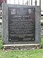 "Wąchock Monastery – commemorative plaque to Emilia Malessa ""Marcysia"".JPG"
