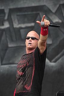 David White (heavy metal vocalist) lead vocalist of Heathen