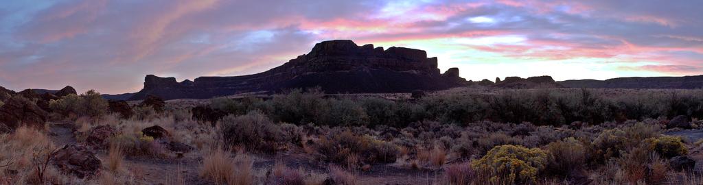Sunrise view of La Mesa