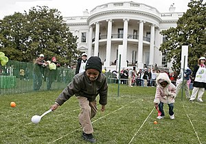 South Lawn (White House) - The 2007 Easter Egg Roll on the South Lawn