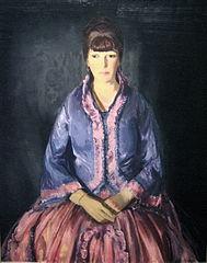 Emma in the Purple Dress