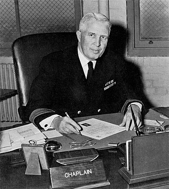 Chief of Chaplains of the United States Navy - Image: WNTS Portrait Frontal at Desk img 110 (1)