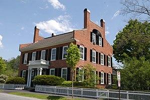 Woodstock (village), Vermont - General Lyman Mower House on the Green