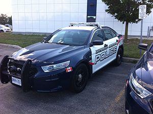 Waterloo Regional Police Service - 2013 Ford Taurus