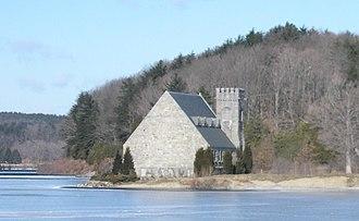 West Boylston, Massachusetts - Image: Wachusett Stone Church
