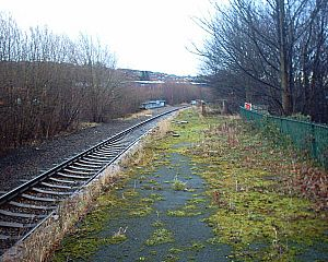 Wadsley Bridge railway station - Image: Wadsley Bridge Station 08 01 05