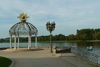Waging am See - The lake promenade