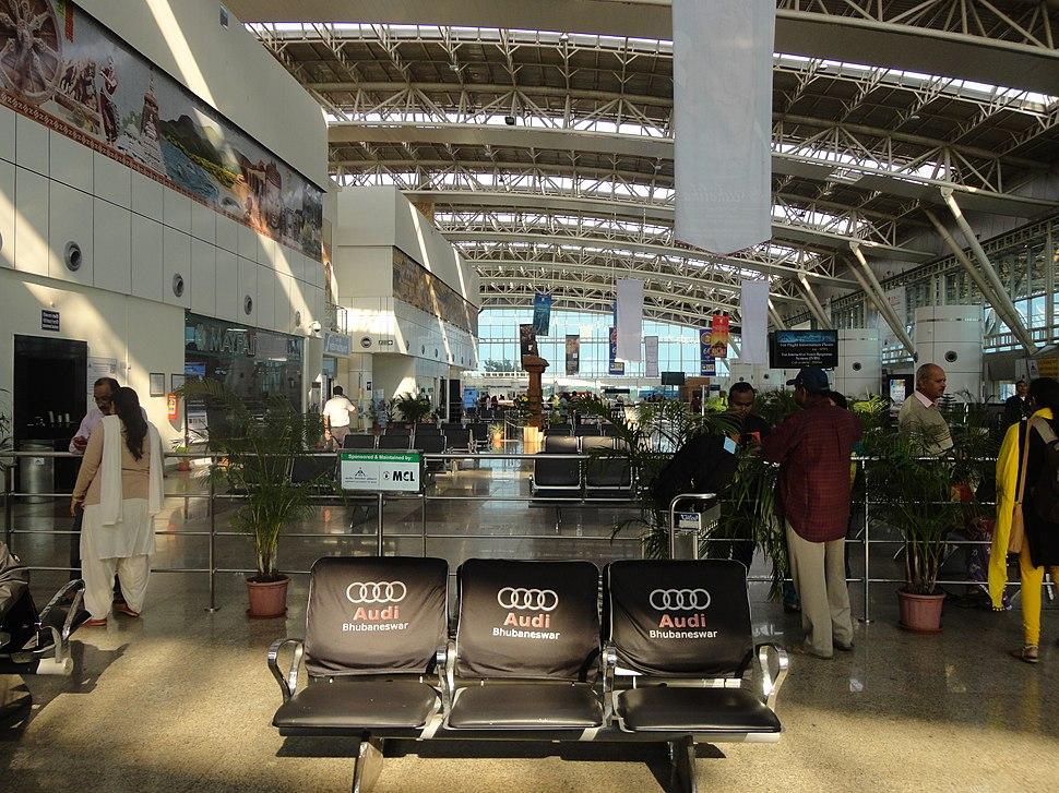 Waiting Launge of Biju Pattnaik International Airport ( Domestic Area )