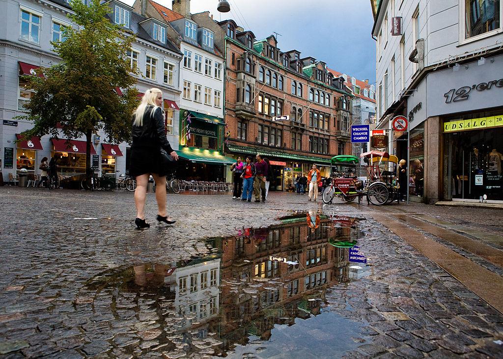 Stroget - obchodné ulice (Kodaň)