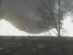 2008 in the United States - Image: Wall cloud 2008