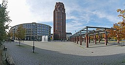 Walther-von-Cronberg-Platz in Frankfurt am Main