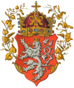The Coat of arms of the King (and Kingdom) of Bohemia.