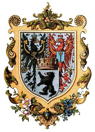 Coat of arms of Berlin - Image: Wappen Preußische Provinzen Stadt Berlin