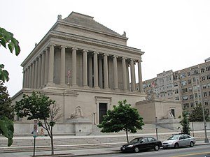 Mausoleum at Halicarnassus - The Masonic House of the Temple of the Scottish Rite, Washington, DC, John Russell Pope, architect, 1911–15, another scholarly version.