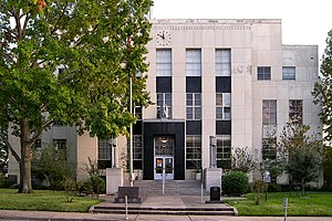 Washington County, Texas - Image: Washington county courthouse texas