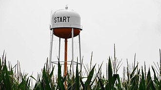 Start, Louisiana - Image: Water Tower in Start, Louisiana