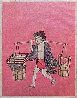 Water Vender(Harunobu)