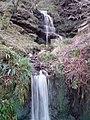 Waterfall Near Edlingham Castle (Swin Hope) - geograph.org.uk - 664620.jpg