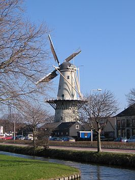 Molen Windlust in Wateringen