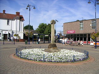 Wath upon Dearne Town in South Yorkshire, England
