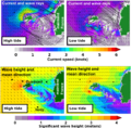 Wave model current induced refraction.png