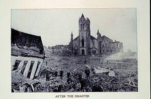 Charles Francis Coghlan - Aftermath 1900 Galveston Hurricane
