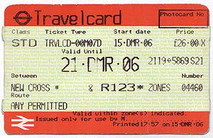 Metro Travel Card London
