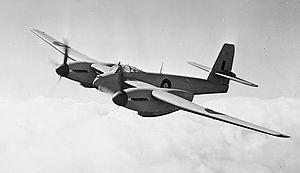 W. E. W. Petter - Welkin Mark I, DX318, in flight
