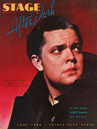 Caesar (Mercury Theatre) - Orson Welles as Marcus Brutus