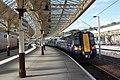 Wemyss Bay - Abellio 380016 arriving from Glasgow.JPG