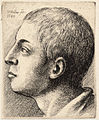 Wenceslas Hollar - Head of a young man looking up.jpg